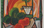 frutas exoticas acrylic on canvas 80 x 100 cm